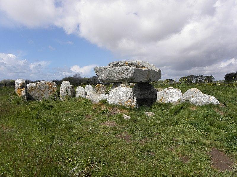 Photo du Monument Historique Allée de Kerugon et bande de terrain autour situé à Plomeur