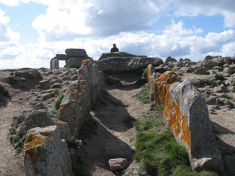 Photo du Monument Historique Presqu'île de la Torche ou Bogan Dorchenn situé à Plomeur