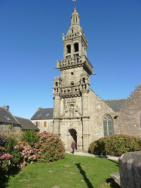 Photo du Monument Historique Chapelle Sainte-Marie situé à Plomodiern