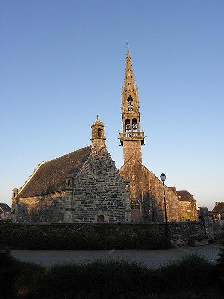 Photo du Monument Historique Eglise Saint-Pierre situé à Ploudiry