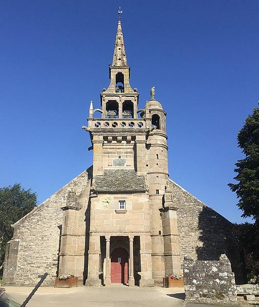 Photo du Monument Historique Eglise Saint-Etienne situé à Plouézoch