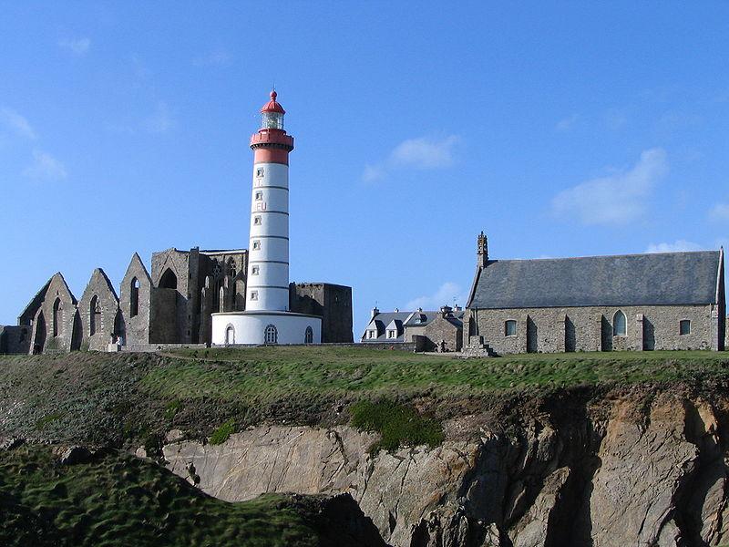 Photo du Monument Historique Ruines de l'abbaye Saint-Mathieu situé à Plougonvelin