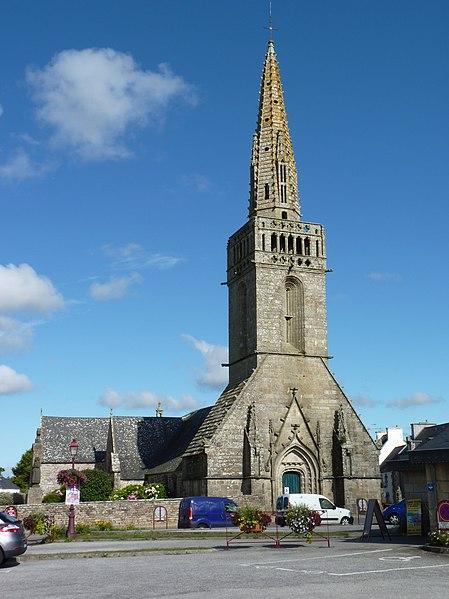 Photo du Monument Historique Eglise Saint-Winoc situé à Plouhinec