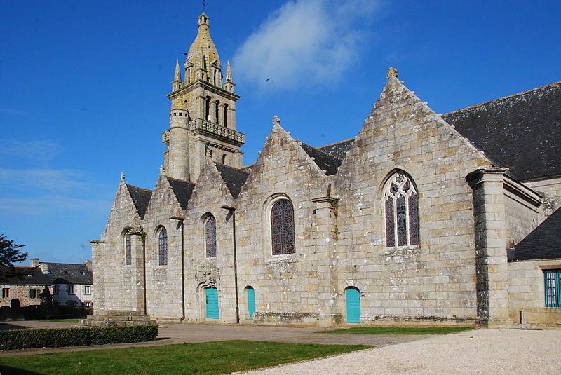 Photo du Monument Historique Eglise Notre-Dame situé à Plourin-lès-Morlaix