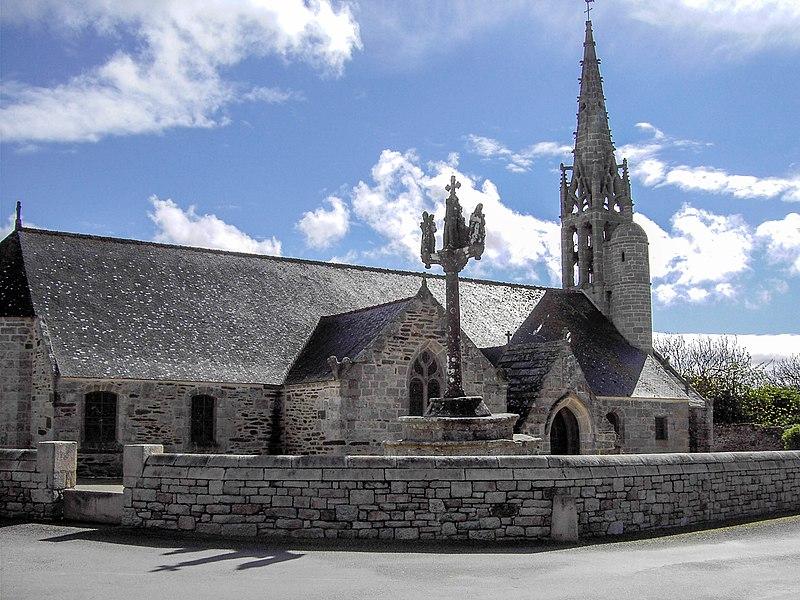 Photo du Monument Historique Eglise Saint-Gorgon situé à Plovan