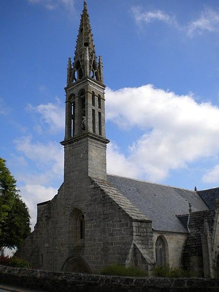 Photo du Monument Historique Eglise Saint-Demet situé à Plozévet