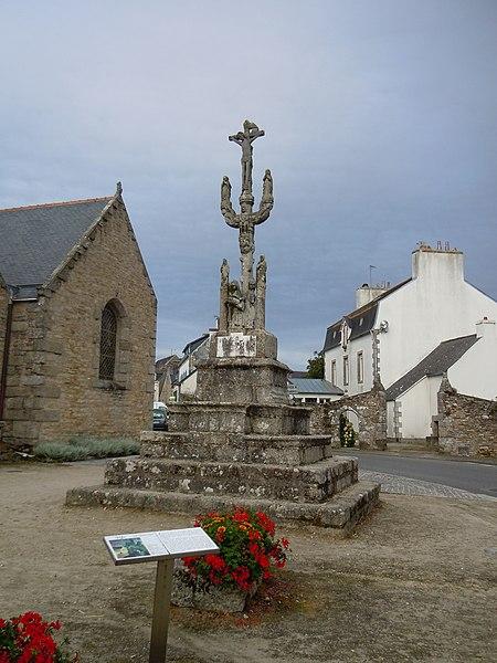 Photo du Monument Historique Calvaire situé à Pont-Aven