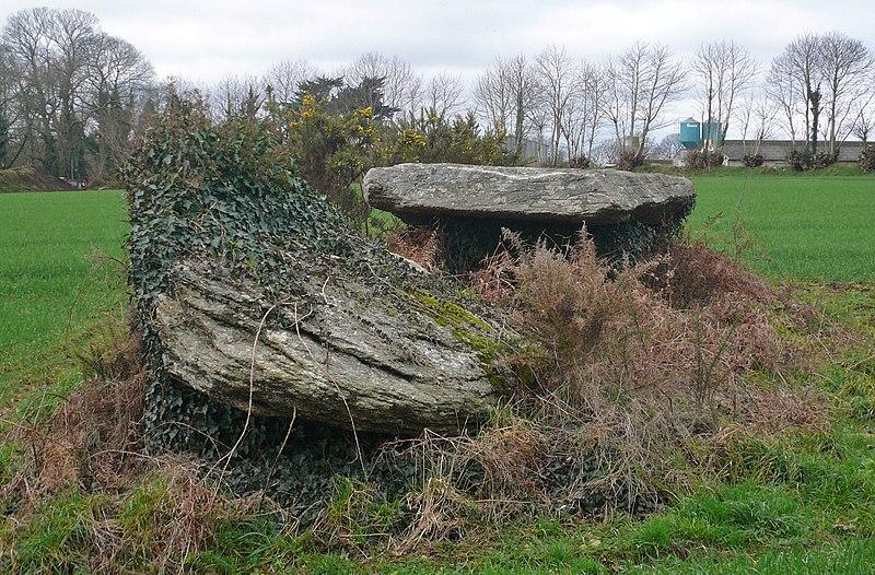 Photo du Monument Historique Deux dolmens situé à Pont-Aven