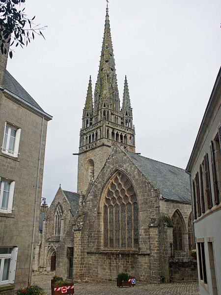 Photo du Monument Historique Eglise Notre-Dame de Roscudon situé à Pont-Croix