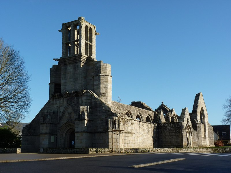 Photo du Monument Historique Eglise Saint-Jacques de Lambour situé à Pont-l'Abbé