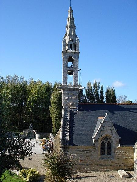 Photo du Monument Historique Eglise Saint-Paban de Lababan situé à Pouldreuzic