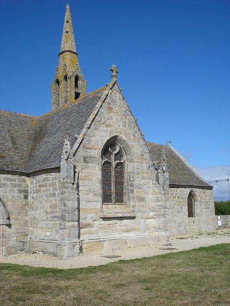 Photo du Monument Historique Chapelle Notre-Dame-de-Penhors situé à Pouldreuzic