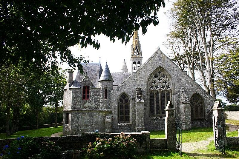 Photo du Monument Historique Chapelle Notre-Dame-de-Kérinec et abords situé à Poullan-sur-Mer