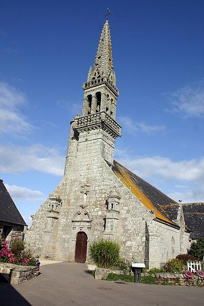 Photo du Monument Historique Eglise Saint-Cadoan situé à Poullan-sur-Mer