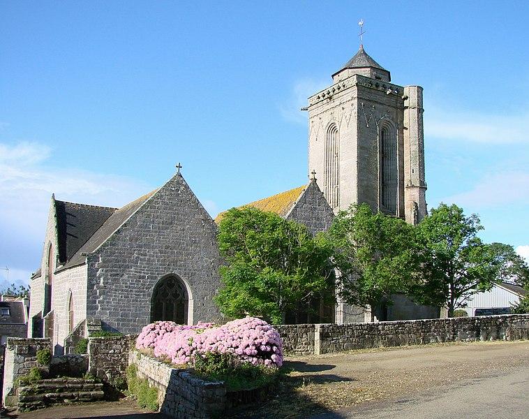 Photo du Monument Historique Chapelle de Saint-Tugen et abords situé à Primelin