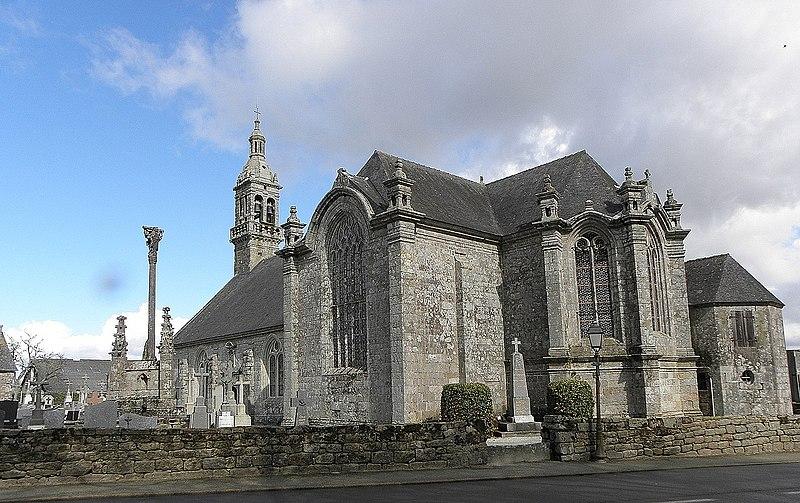Photo du Monument Historique Chapelle Notre-Dame de Kergoat situé à Quéménéven