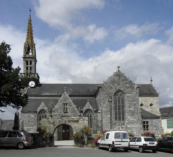 Photo du Monument Historique Eglise Saint-Ouen situé à Quéménéven