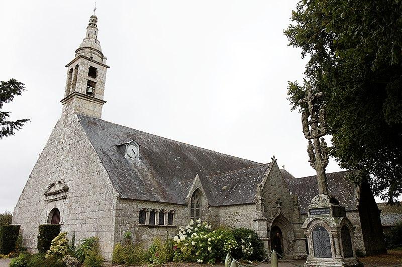 Photo du Monument Historique Eglise Saint-Alor d'Ergué-Armel situé à Quimper