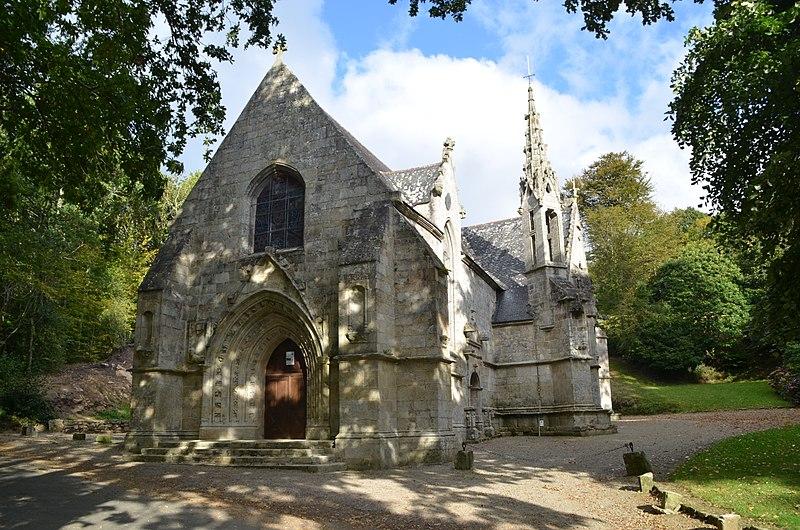 Photo du Monument Historique Chapelle de la Mère-de-Dieu, à Kerfeunten, dite Ty-Man-Doué situé à Quimper