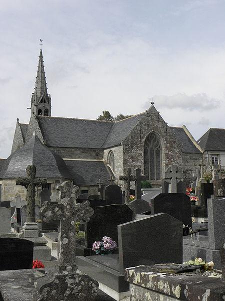 Photo du Monument Historique Eglise de la Trinité de Kerfeunteun situé à Quimper