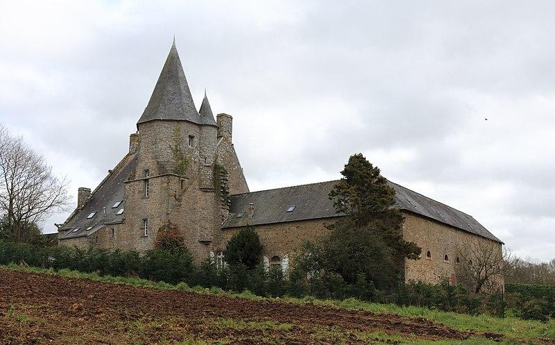 Photo du Monument Historique Manoir de Coatbily, à Kerfeunten situé à Quimper