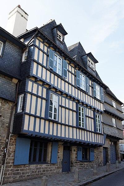 Photo du Monument Historique Deux maisons formant un ensemble situé à Quimper
