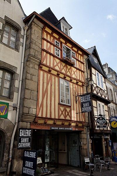 Photo du Monument Historique Immeuble situé à Quimper