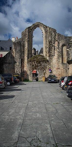 Photo du Monument Historique Ancienne abbaye de Saint-Colomban situé à Quimperlé