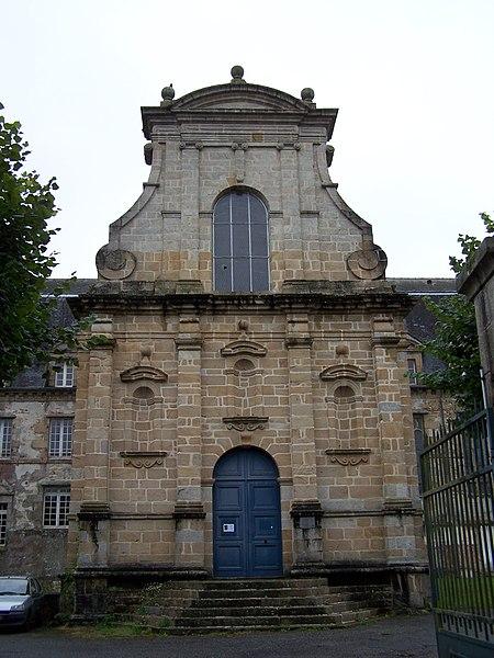 Photo du Monument Historique Ancien couvent des Ursulines situé à Quimperlé