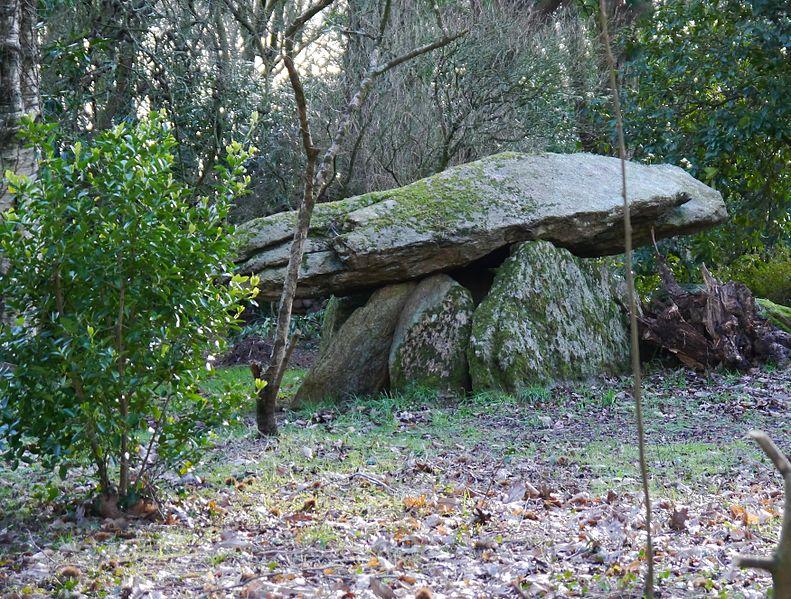Photo du Monument Historique Dolmen de Roscasquen situé à Quimperlé