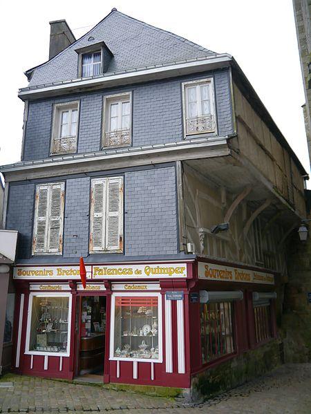 Photo du Monument Historique Immeubles situé à Quimperlé