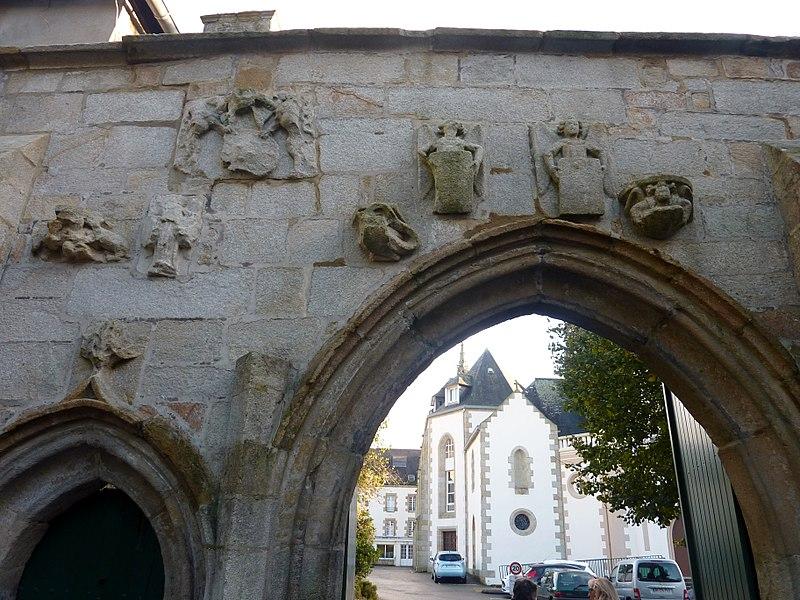 Photo du Monument Historique Maison de retraite du Bourgneuf situé à Quimperlé