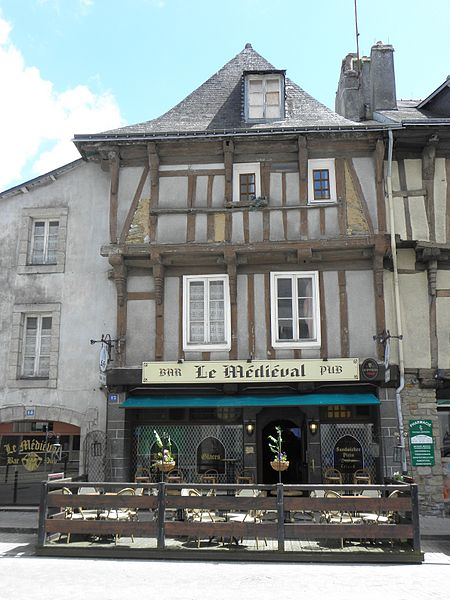 Photo du Monument Historique Maison situé à Quimperlé