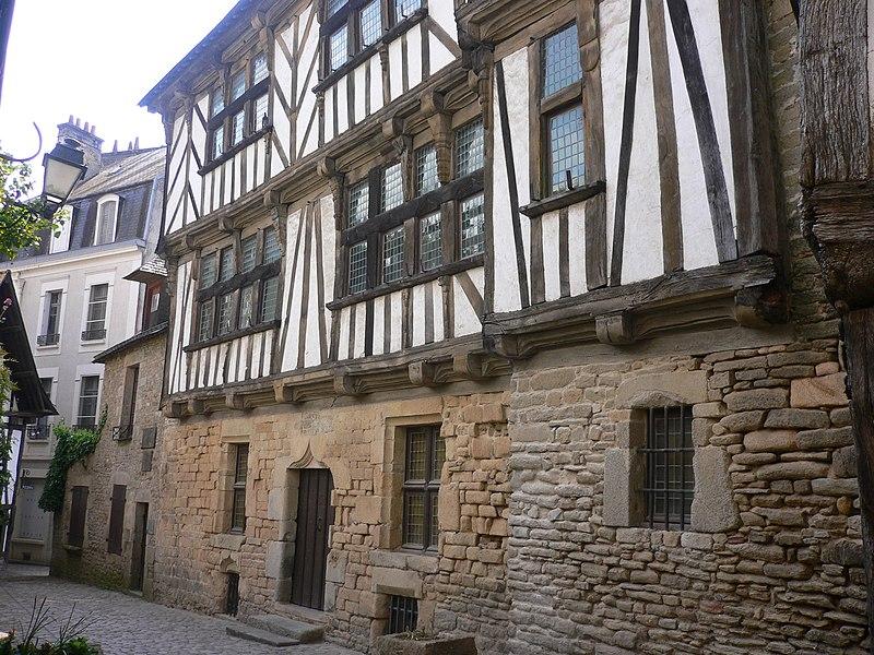 Photo du Monument Historique Maison dite Maison des Archers situé à Quimperlé