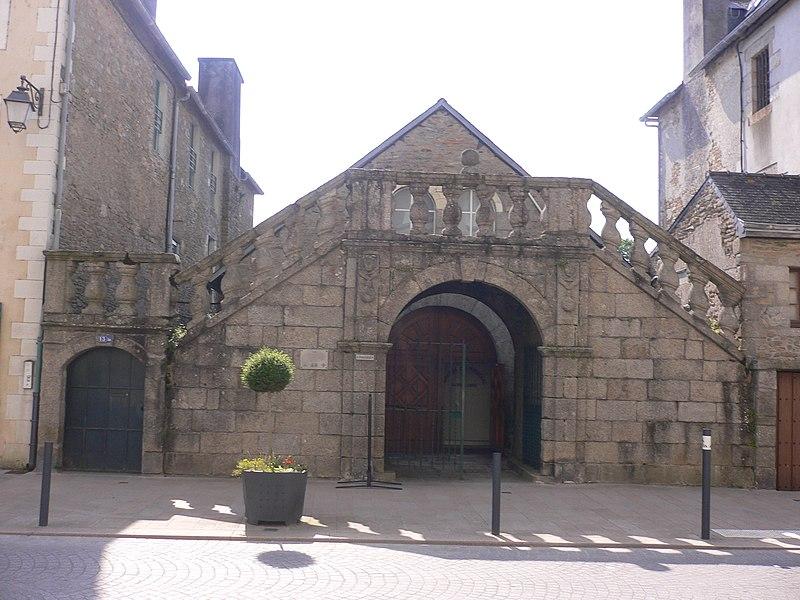 Photo du Monument Historique Ancien présidial situé à Quimperlé