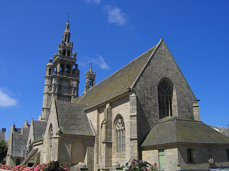 Photo du Monument Historique Eglise Notre-Dame de Croaz-Batz et enclos situé à Roscoff