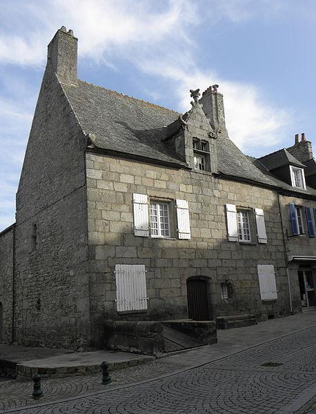 Photo du Monument Historique Maison dite de Marie Stuart situé à Roscoff