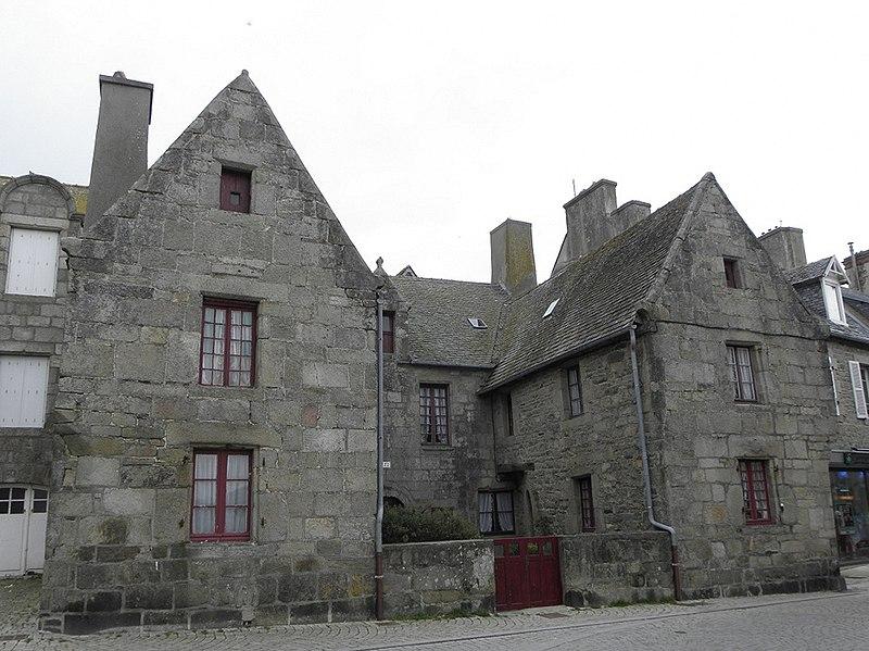 Photo du Monument Historique Immeuble situé à Roscoff