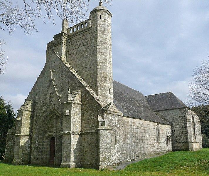 Photo du Monument Historique Chapelle du Moustoir situé à Rosporden
