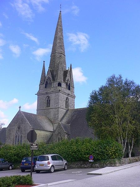 Photo du Monument Historique Eglise Notre-Dame situé à Rosporden