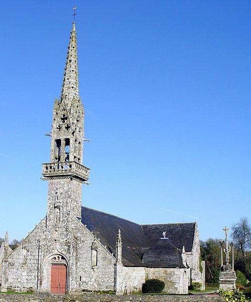 Photo du Monument Historique Eglise Saint-Pierre situé à Saint-Hernin