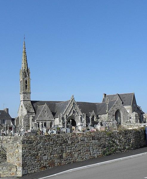 Photo du Monument Historique Eglise Saint-Nicaise et cimetière situé à Saint-Nic