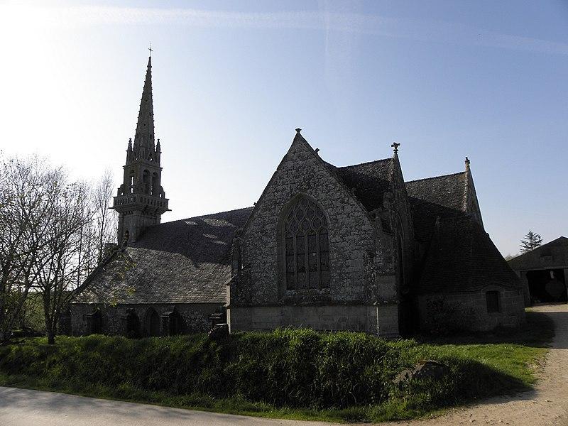 Photo du Monument Historique Chapelle Saint-Côme et ses abords situé à Saint-Nic