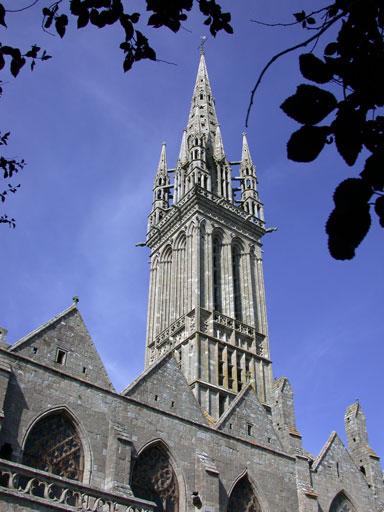 Photo du Monument Historique Eglise Notre-Dame du Creisker ou Kreisker situé à Saint-Pol-de-Léon