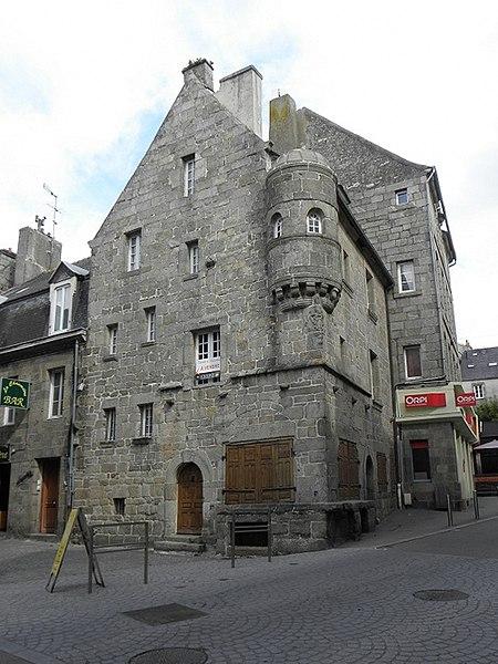 Photo du Monument Historique Maison prébendale situé à Saint-Pol-de-Léon
