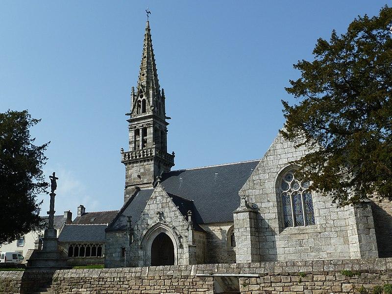 Photo du Monument Historique Eglise Notre-Dame situé à Saint-Yvy