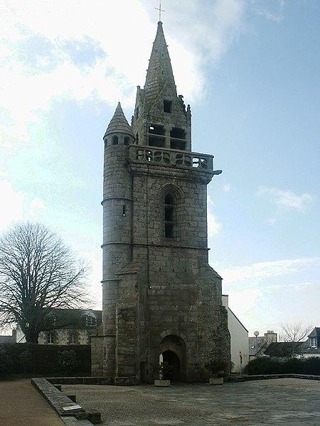 Photo du Monument Historique Ancienne église situé à Taulé