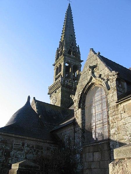 Photo du Monument Historique Eglise Saint-Idunet situé à Trégourez