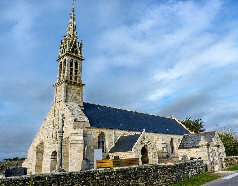 Photo du Monument Historique Eglise Notre-Dame-de-Pitié situé à Tréguennec