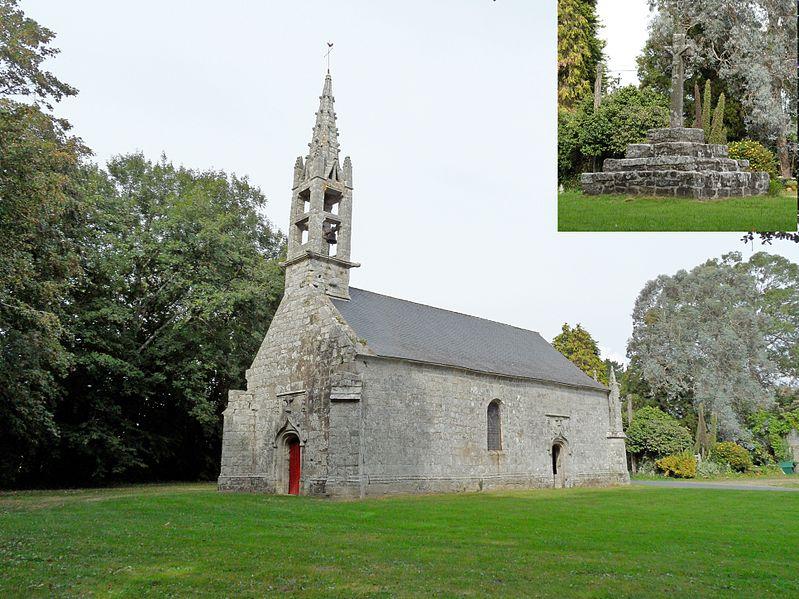 Photo du Monument Historique Chapelle Saint-Sébastien situé à Tréméoc